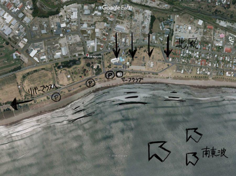 ギズボーンのタウンビーチでエンジョイサーフ【ニュージーランド波情報】
