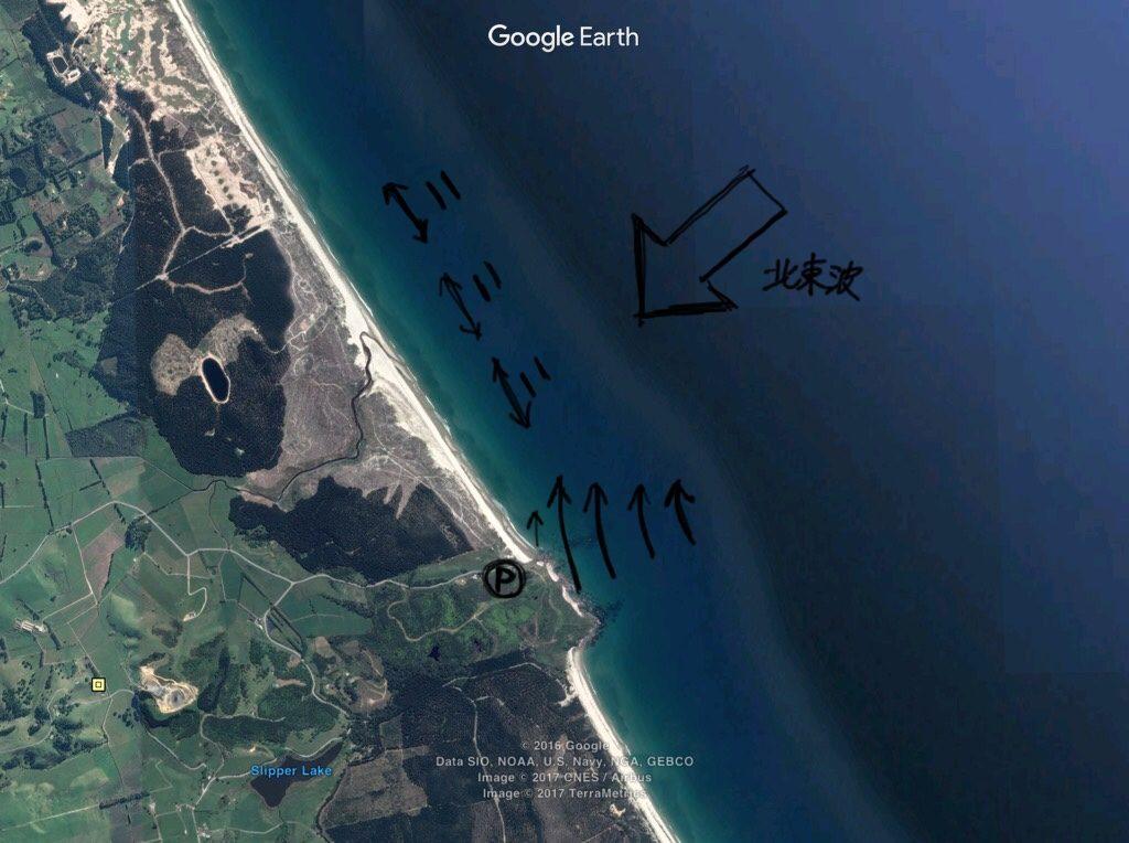 ニュージーランドサーフマップ