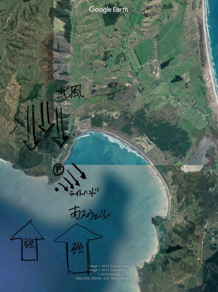 マヒア、ポイントAでウェーブプール体験【ニュージーランド波情報】