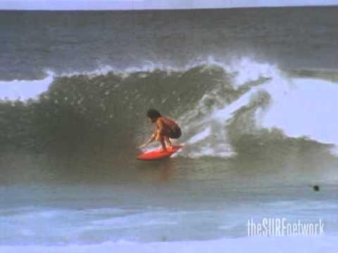 シングルフィンでサーフィン・ラリーバートルマンに憧れて