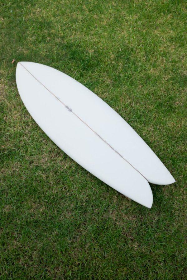 クラシックなフィッシュであれば、小波でもサーフィンが楽しめる
