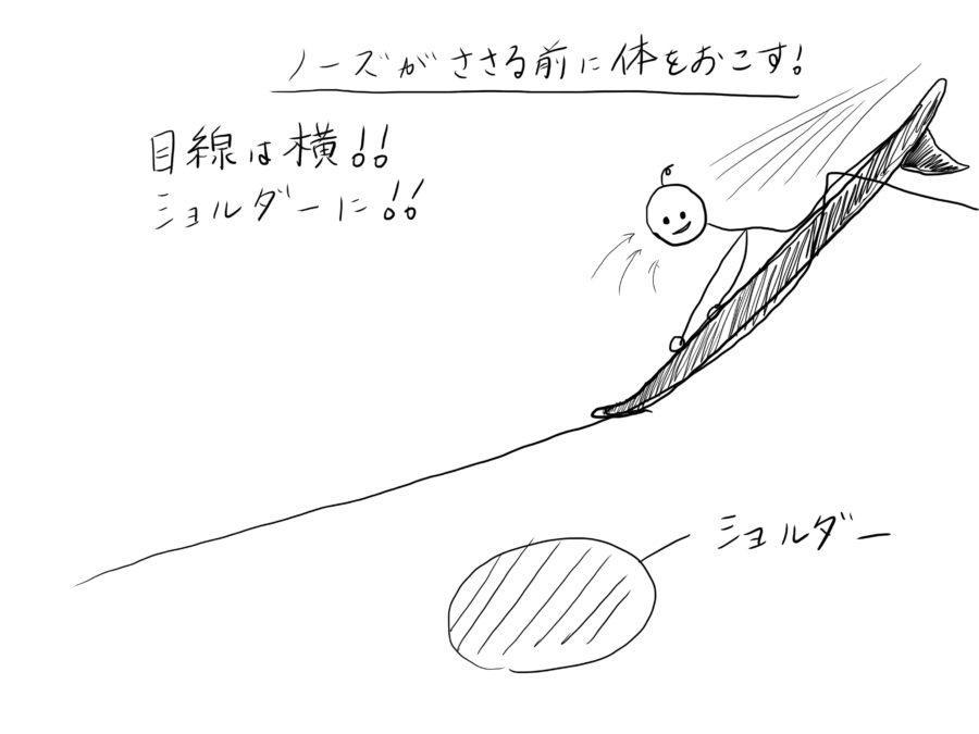 サーフィン中にノーズが刺さらないようにする4つの方法【パーリング防止策】