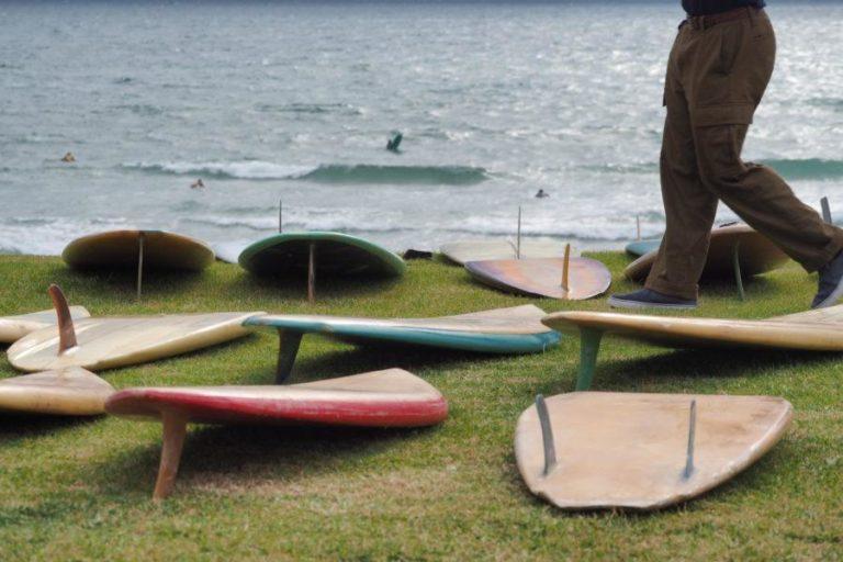 サーフィン初心者はどの種類のフィンを選んでもそれが正解になる