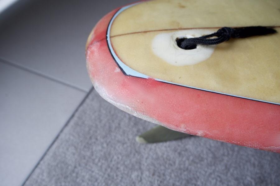 初心者でもできるサーフボード修理のやり方!ガラスクロスとソーラー(UV)レジンを使って簡単リペアに挑戦