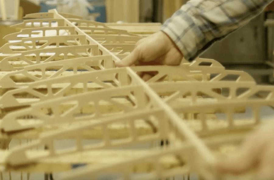 組み立て型木製サーフボードの特徴