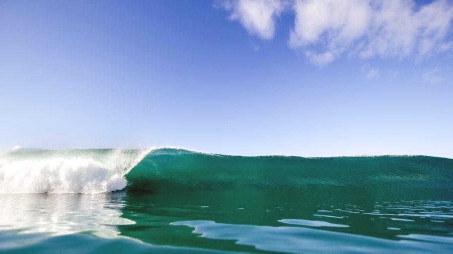 サーフィンのオフショアコンディション