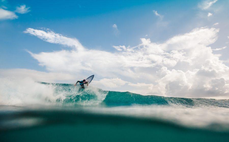 上級者のサーフィン