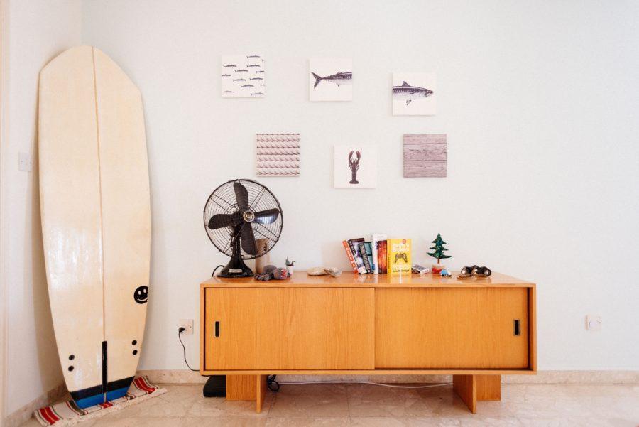 サーフボード保管方法