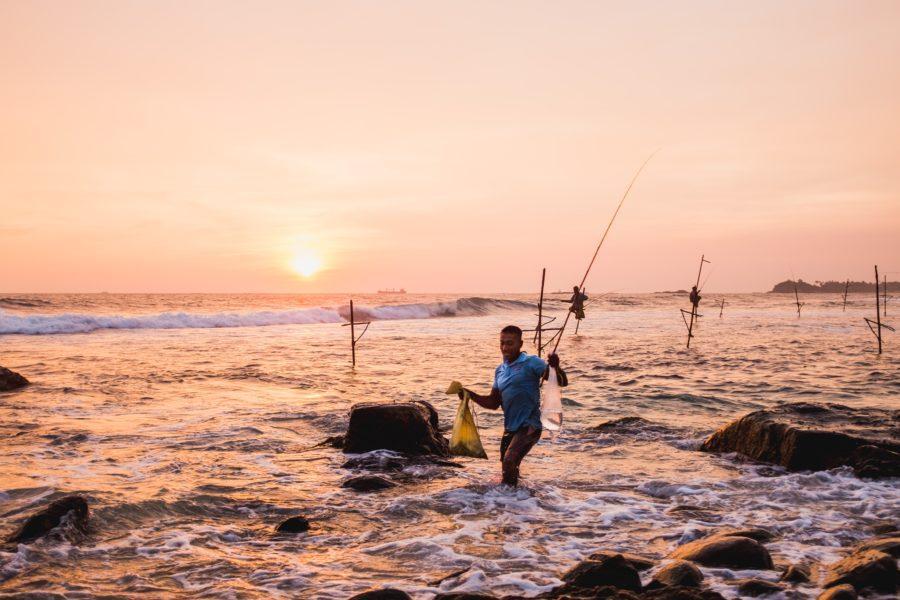 スリランカの現地人は皆暖く優しい
