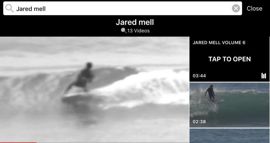 検索機能が充実のサーフィン動画アプリ