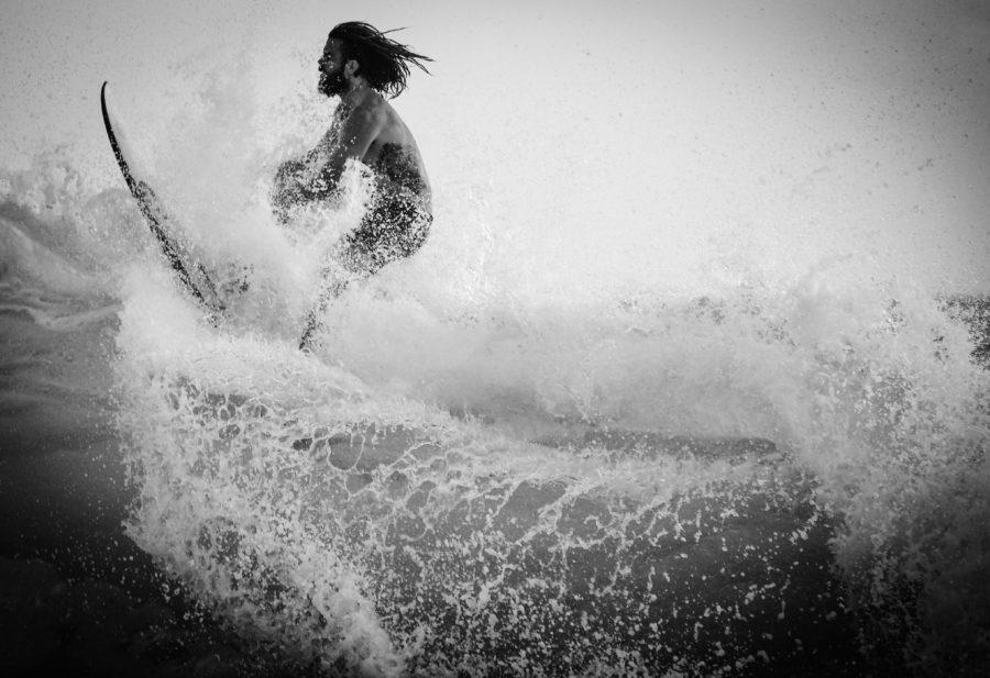 集中力が高まればサーフィンの上達が早くなる