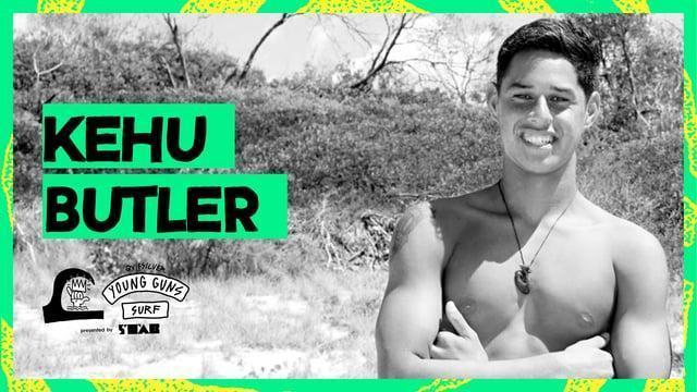 ニュージーランドを代表するサーファーKehu Butler(ケフバトラー)