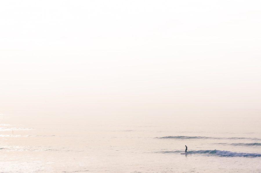 サーフスポットががら空きなのも早起きサーフィンの利点の1つ